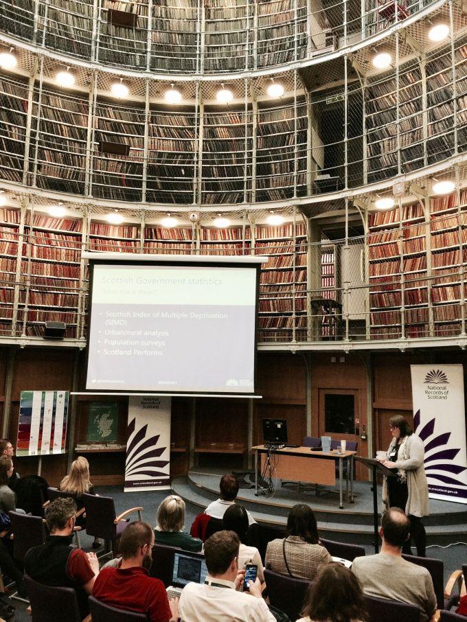 Datafest - Amy Wilson speaking