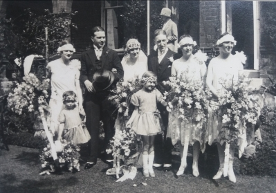 mystery wedding photograph handed in to National Records of Scotland