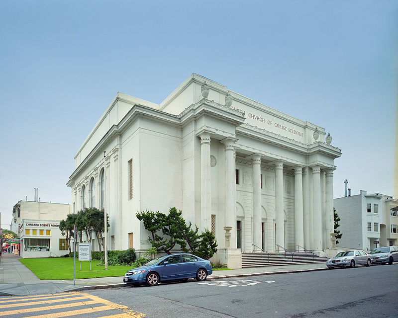 The Internet Archive, based in a former Christian Science Church, San Francisco. Taken from https://en.wikipedia.org/wiki/Internet_Archive#/media/File:Christian_science_church122908_02.jpg