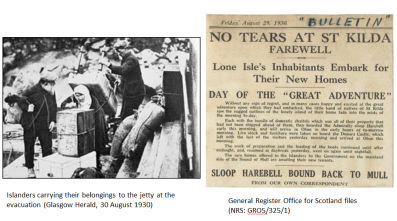 Evacuation 1930