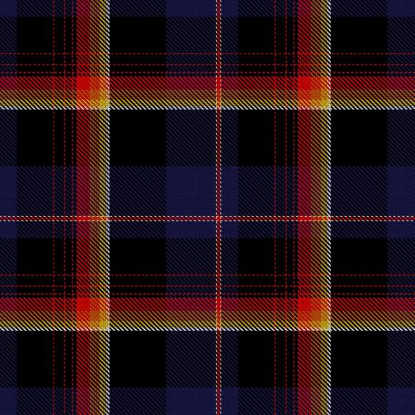 """Volcano"" tartan, added to the Scottish Register of Tartans in 2017"