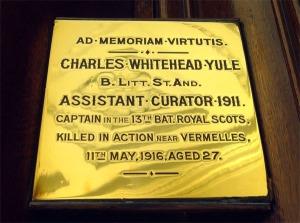 Charles Whitehead Yule