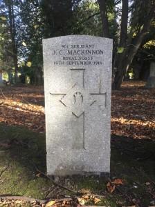 EC Mackinnon grave a
