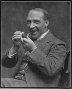 Harry Lauder portrait