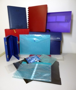 Plastic files and other packaging