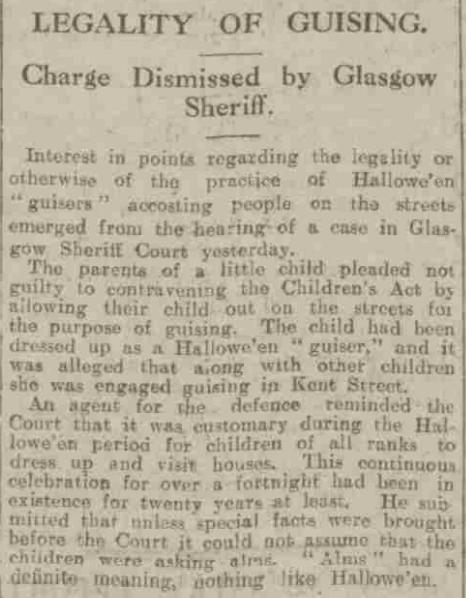 Aberdeen Press and Journal, Thursday, October 31, 1929 (Aberdeen Journals Ltd)